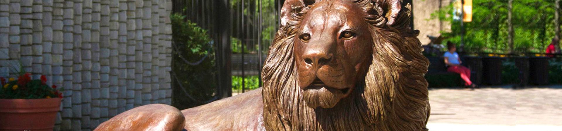 Bronze Lion statues For Sale